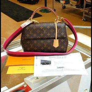 Louis Vuitton🌷Cluny BB Monogram Fuschia Bag